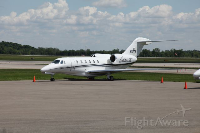 Cessna Citation X (N75TX) - Textron Corporate
