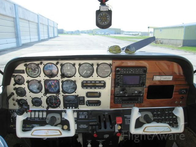 Beechcraft Sundowner (N63503) - Some panel.