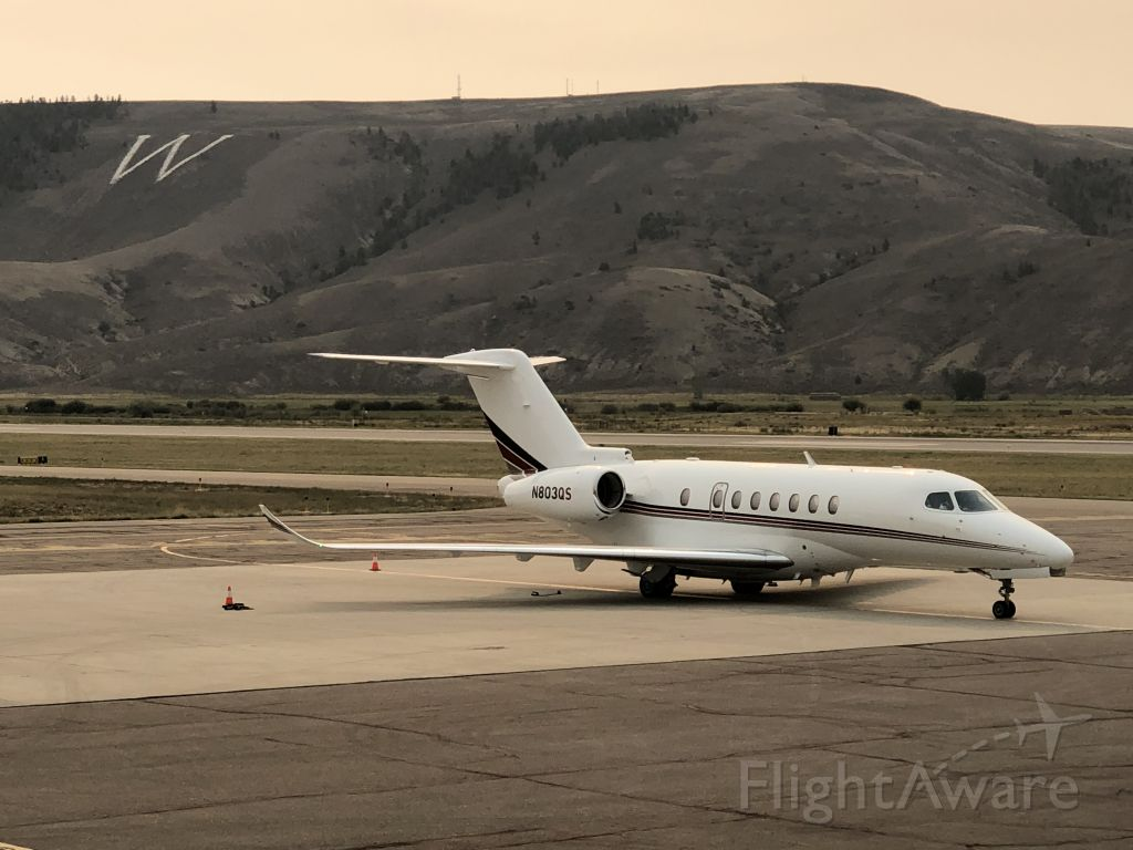 Cessna Citation Longitude (N803QS)