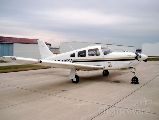 Piper Cherokee Arrow (N540PU) - Arrow used for Instrument ratings and Commercial Certificates at Purdue University