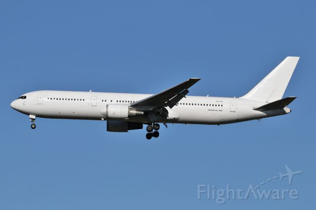 BOEING 767-300 (CS-TKS) - ICE507 arriving from Amsterdam.  Leased in from Euroatlantic.