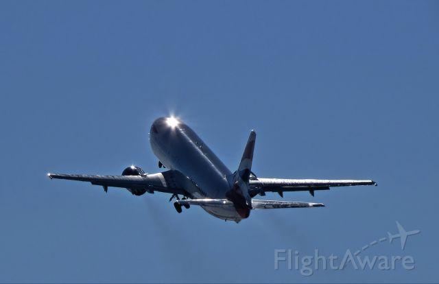 BOEING 737-400 (G-DOCE) - BA 737-436 last take off as it heads for the  boneyard in the desert.