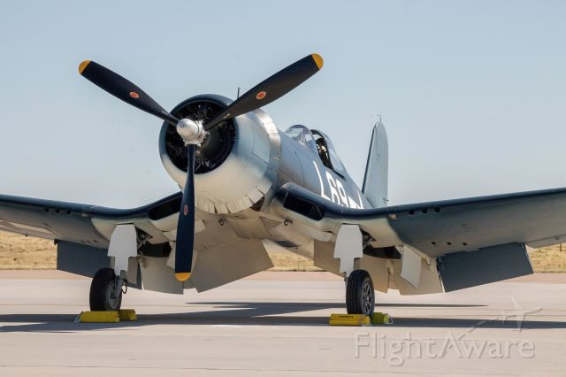 N4634 — - The world's sole surviving Brewster-built F3A-1 Corsair, 04634.