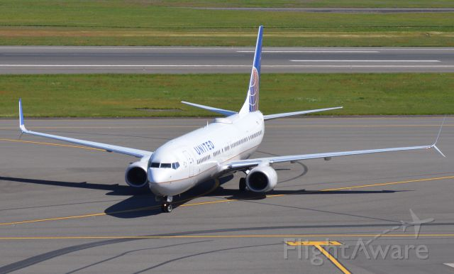 Boeing 737-900 (N37462) - A beautiful United 737-924ER arriving at Portland,Oregon. Date - May 6, 2016