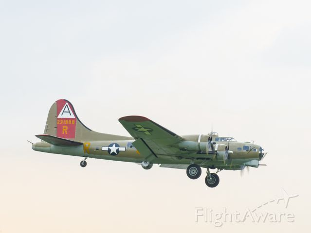 Boeing B-17 Flying Fortress — - Coming home.