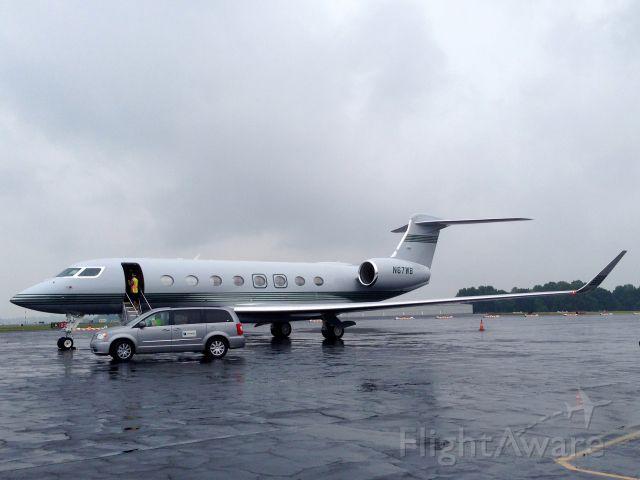 Gulfstream Aerospace Gulfstream G650 (N67WB)