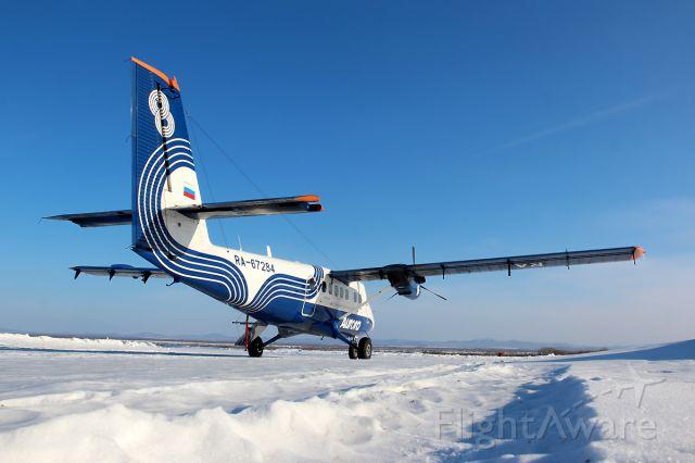 De Havilland Canada Twin Otter (RA-67284) - Dalnerechensk, Primorsky Krai, Russia