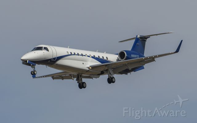 Embraer Legacy 600/650 (N809TD) - Runway 20R arrival @KDPA.Judging by the tail, looks like this is the most recent.