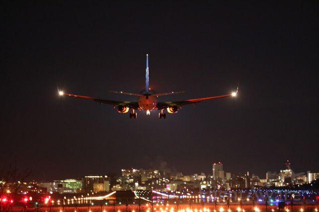 Boeing 737-800 (JA67AN) - 17 January 2017:HND-HKD