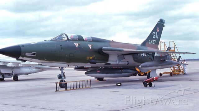 AFR62427 — - F-105G configured for cross-country flight.