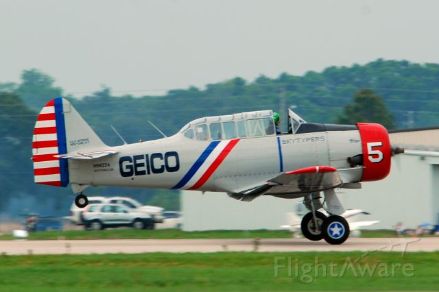 North American T-6 Texan (N58224) - 2013 Sun n Fun