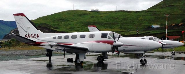 Cessna Conquest 2 (SVX41) - N441SA at Dutch Harbor, AK before heading on to Adak and then Attu with 2 other Security Aviation Conquests.