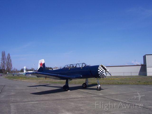 C-GYKK — - YAK arobatic trainer  CFB Comox Airbase,  British Columbia, Canada