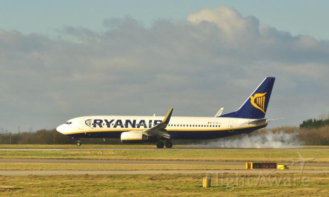 Boeing 737-800 (EI-DLJ) - Ryanair Boeing 737-8AS(WL) EI-DLJ in London Stansted Airport