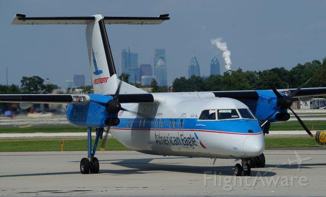 de Havilland Dash 8-100 (N837EX) - The Piedmonster in PHL!
