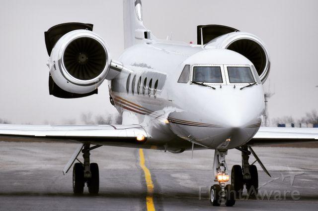 Gulfstream Aerospace Gulfstream IV (N1624K) - Privately owned Gulfstream G-IV arriving into the Buffalo Niagara International Airport FBO ramp