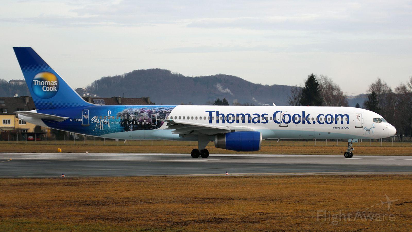 Boeing 757-200 (G-TCBB) - Egypt - where it all begins
