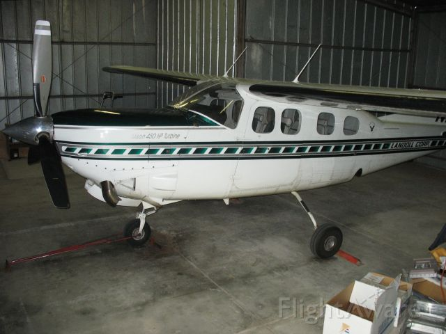 Cessna Centurion (N93LC) - Silver Eagle