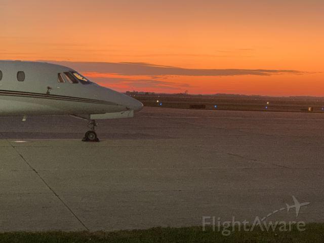 Cessna Citation Sovereign (N334QS) - Morning light