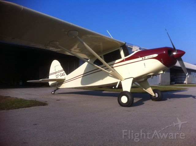 Piper PA-20 Pacer (C-FGAG) - in guelph