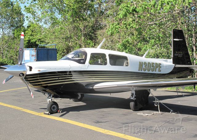 Mooney M-20 Turbo (N305PE) - Speed!