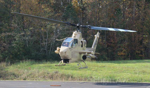 N998HF — - An Army Aviation Heritage Foundation Bell AH-1F Cobra, departing Folsom Field, Cullman Regional Airport, AL, during the Elks Lodge 1609 sponsored Cullman Veteran