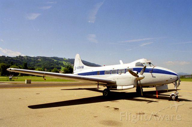 Hawker Siddeley Dove (G-ARHW) - De Havilland