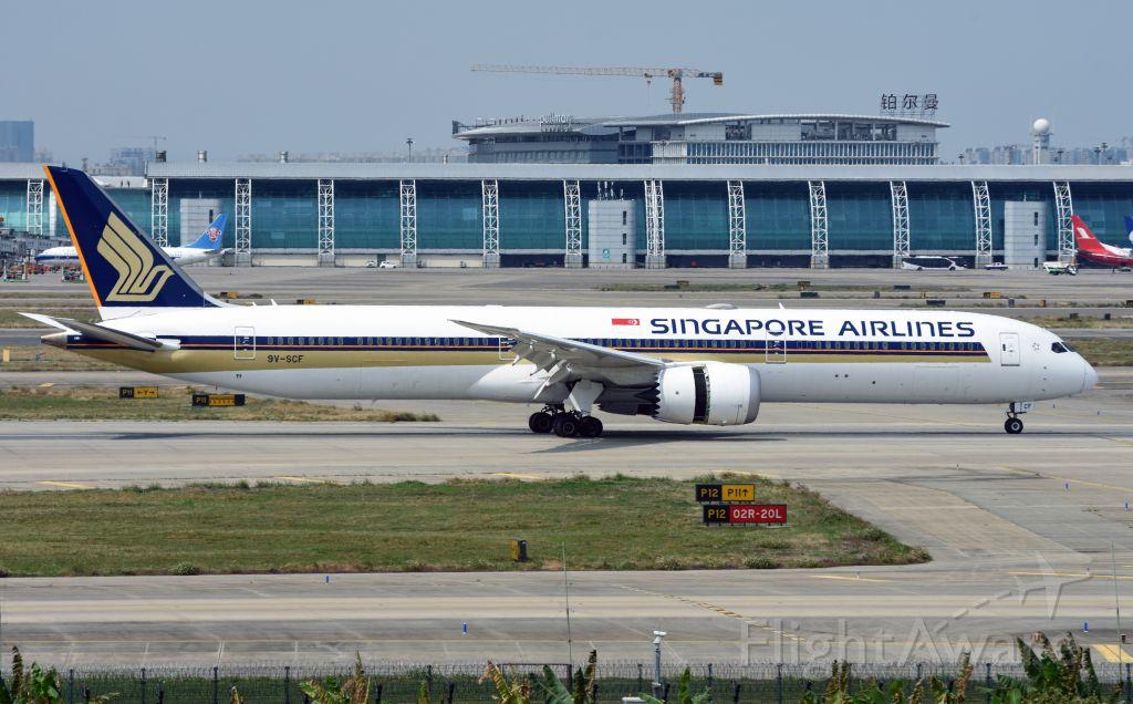BOEING 787-10 Dreamliner (9V-SCF)