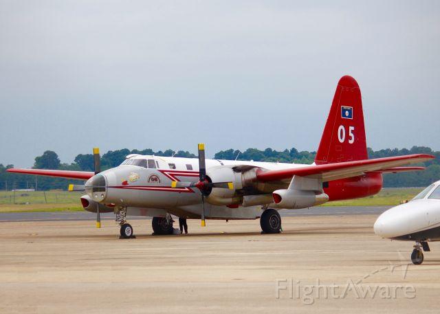 Lockheed P-2 Neptune (N96278) - At Shreveport Regional.