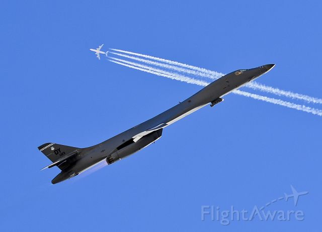 — — - Rockwell B-1 Lancer  Las Vegas - Nellis AFB (LSV / KLSV) USA - Nevada, November 9, 2012 Photo: Tomas Del Coro