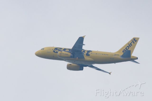 Airbus A319 (N528NK) - These are popping up everywhere in my sky!