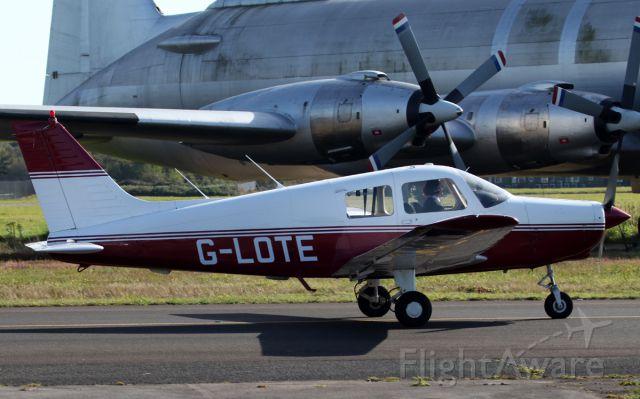 Piper Cherokee (G-LOTE) - Piper PA-28-161
