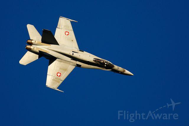 McDonnell Douglas FA-18 Hornet (J5024) - Axalp shooting range