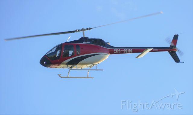 Bell 505 (9H-NIN) - On dep rw13