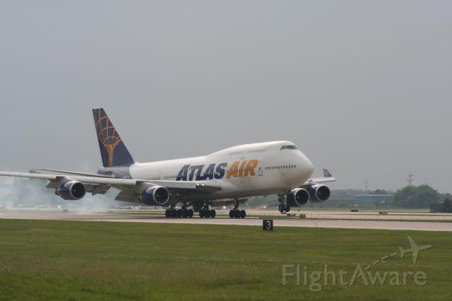 Boeing 747-400 (N464MC) - Charter flight on behalf of Amway.