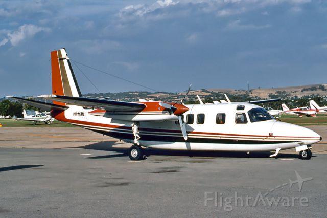 Grumman G-40 Avenger (VH-MML) - AERO COMMANDER 680 - REG : VH-MML (CN12054 ) - PARAFIELD AIRPORT ADELAIDE SA. AUSTRALIA - YPPF (6/3/1983)