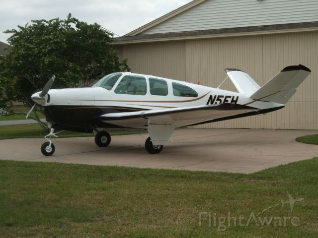 Beechcraft 35 Bonanza (N5EH) - N5EH after new paint.  1959 Beechcraft Bonanza (BE35) K model