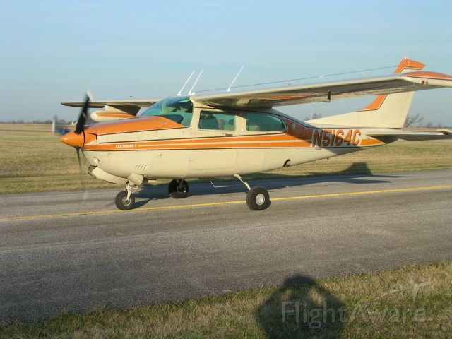 Cessna Centurion (N5164C) - On Taxiway at Kent State Airport Stow Ohio