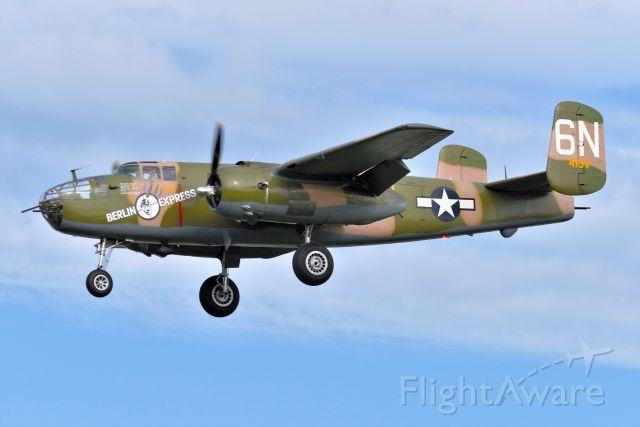 North American TB-25 Mitchell (N10V) - 08-29-21