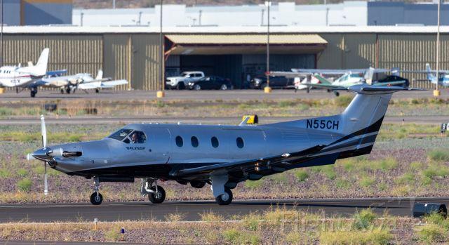 Pilatus PC-12 (N55CH)
