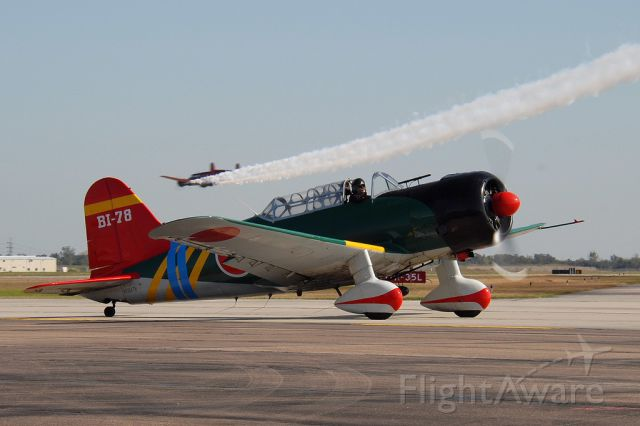 North American T-6 Texan (N56478) - Vultee BT-13A of Tora,Tora,Tora at the Wings Over Houston Airshow, October 2013