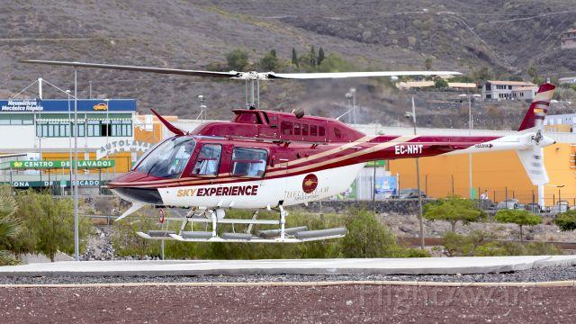 Bell JetRanger (EC-NHT) - Adeje Helidreams Heliport, Tenerife (SPAIN)