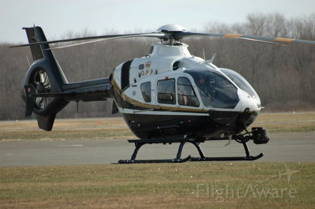 Eurocopter EC-130 (C-FOPP) - 2010 Eurocopter EC135 P2+ (0948) prior to departure on November 18, 2020