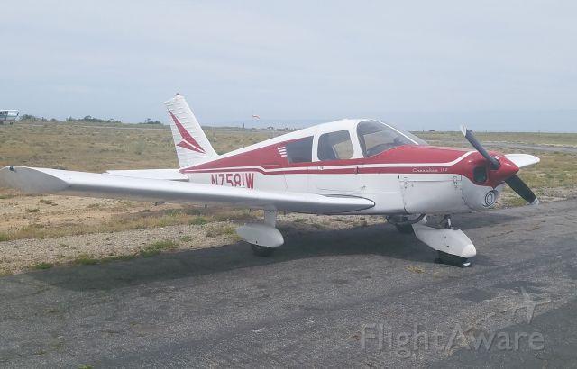 Piper Cherokee (N7581W) - Ramp at Catalina Island Airport