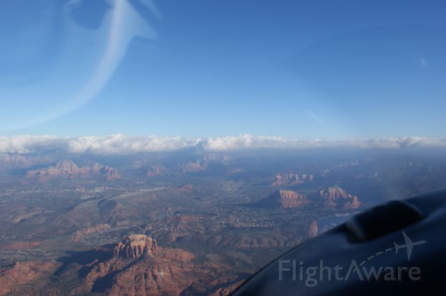 Cessna 170 (N58D) - Nice view on flight into SEZ