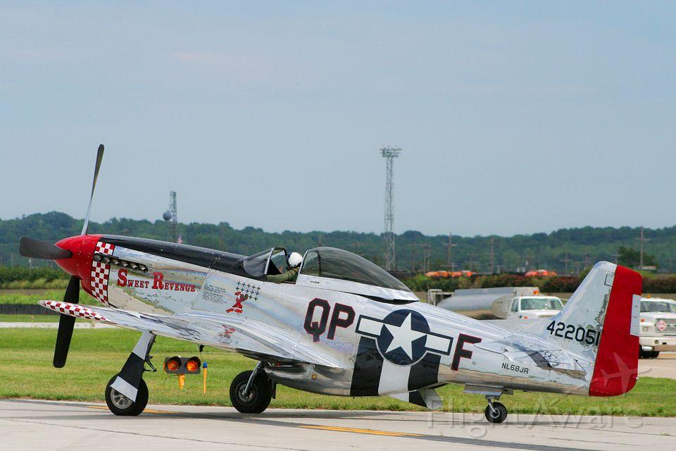 North American P-51 Mustang (NL68JR) - P-51 MUSTANG, Kansas City Air Show, Wheeler Downtown Airport