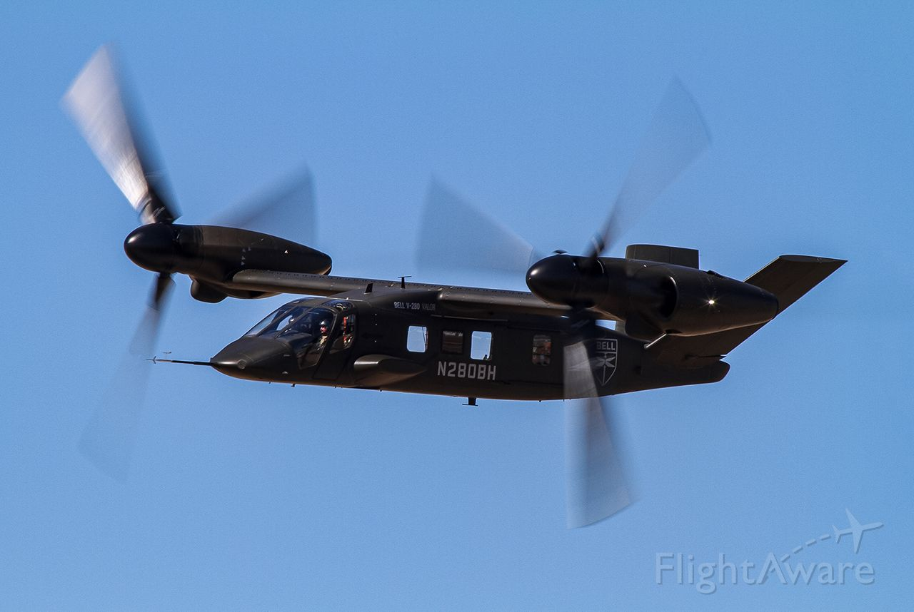 BELL V-280 Valor (N280BH) - Bell V-280 Valor high speed pass during the Alliance Airshow 2019