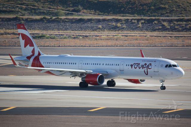 Airbus A321 (C-FJQL)