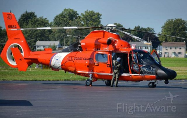 VOUGHT SA-366 Panther 800 (C6584) - United States Coast Guardbr /Eurocopter MH-65D Dolphinbr /Callsign: Helicopter 6584br /Base: USCGAS Detroitbr /br /** STAFF PICK OF THE WEEK 06/29/20 **