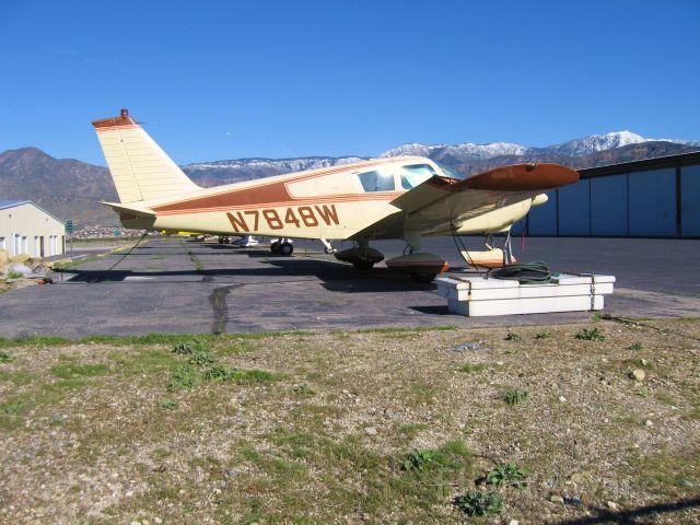Piper Cherokee (N7848W) - At Redlands Muni